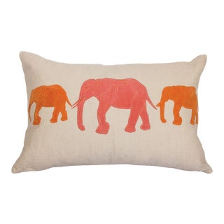 "Piper Collection Persimmon ""Big Al"" Pillow"
