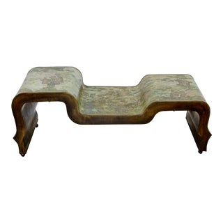1960s Mid Century Modern Philip Kelvin Laverne Coffee Table For Sale