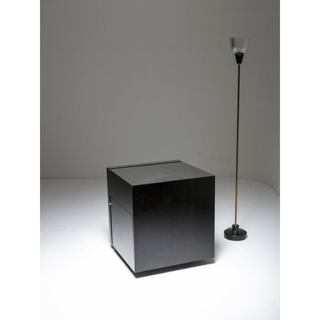 """Black """"Cubo Bar"""" by Studio o.p.i. For Cini&Nils For Sale - Image 8 of 9"""