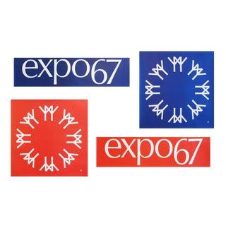 1967 Vintage Montreal Expo 67, Identity Graphics