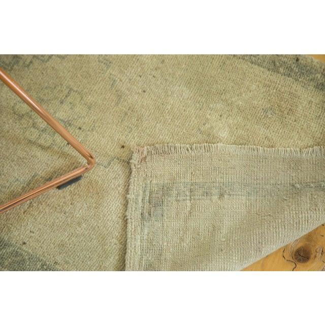 """Vintage Oushak Rug Runner - 1'9"""" x 3'9"""" For Sale - Image 5 of 5"""