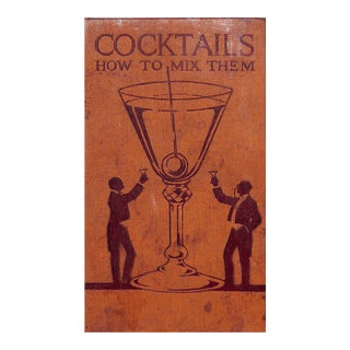 Cocktails: How to Mix Them Book For Sale