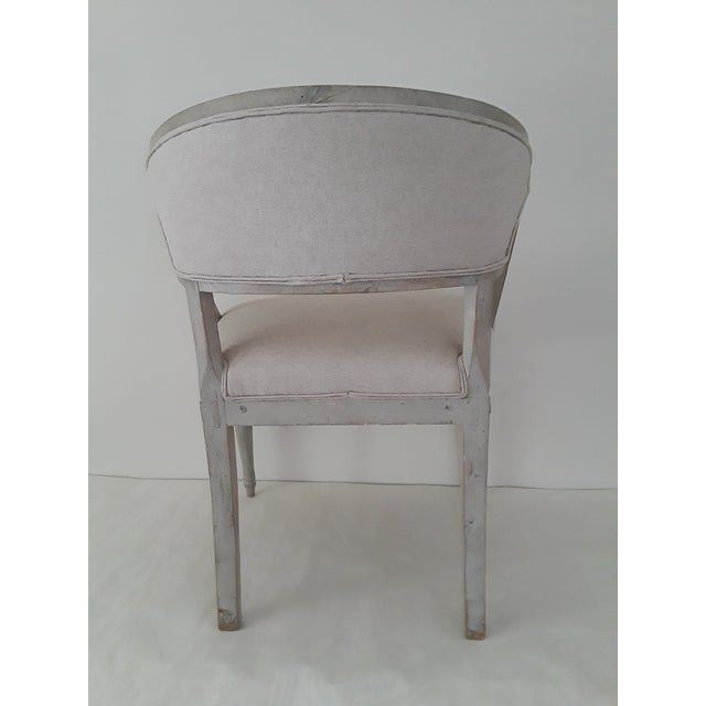Pair of Swedish Gustavian Barrel Chairs - Image 5 of 11