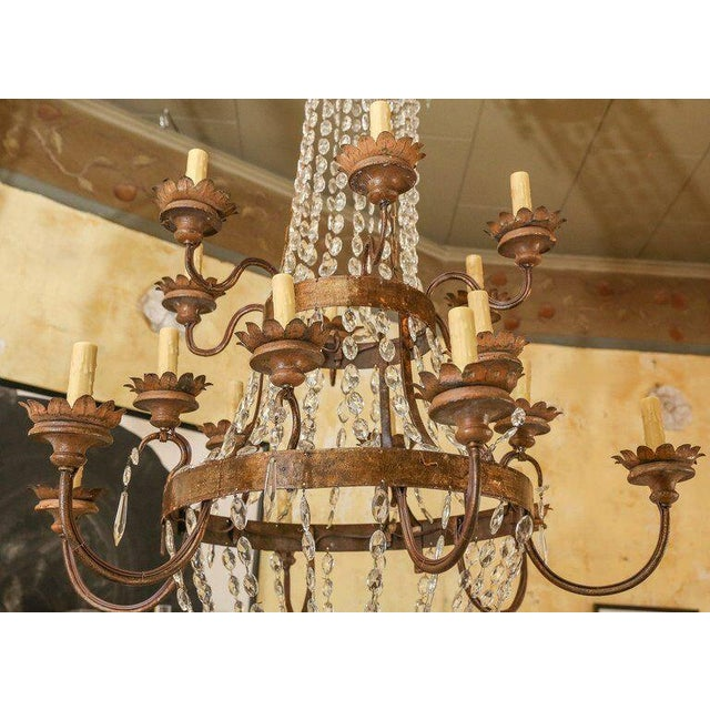 Large Early 19th Century Italian Chandelier - Image 2 of 6