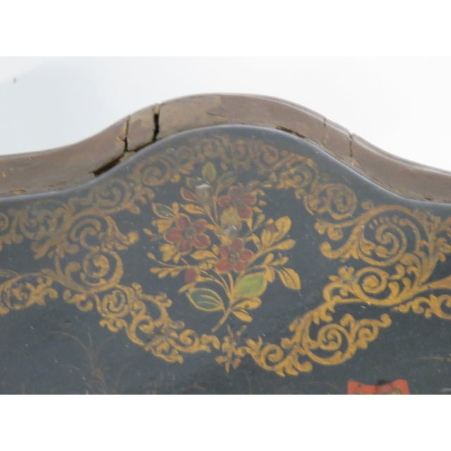 Carved Chinoiserie Decorated Coffee Table - Image 7 of 10