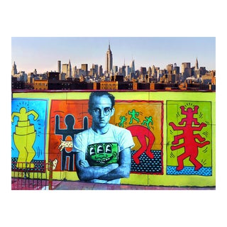 Contemporary Keith Haring New York Street Art Photo For Sale