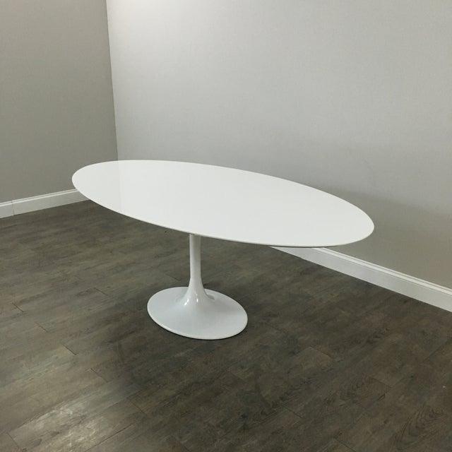 Saarinen-Style Tulip Dining Table by Domitalia - Image 3 of 7