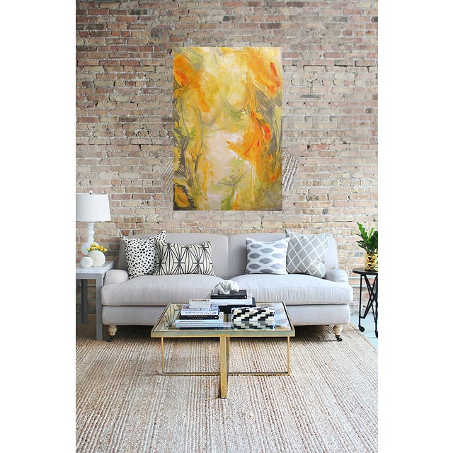 """Trixie Pitts """"Goddess"""" Abstract Painting - Image 2 of 3"""