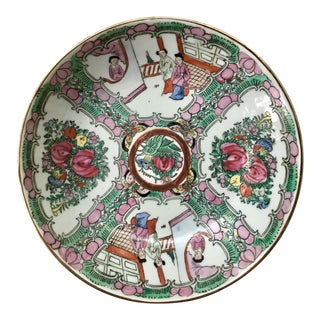 Chinese Famille Rose Medallion Bowl For Sale
