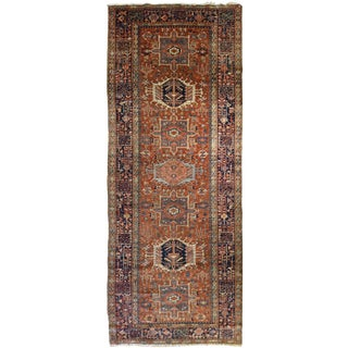 Vintage Persian Karadja Rug For Sale