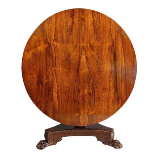 William IV Rosewood Breakfast Table For Sale