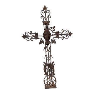 Late 18th Century French Vineyard Cross For Sale