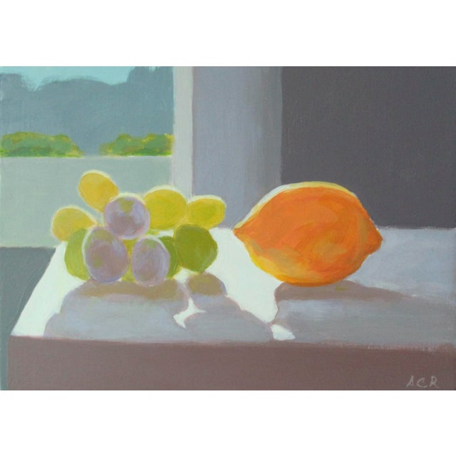 2010s Grapes and a Lemon by Anne Carrozza Remick For Sale - Image 5 of 5