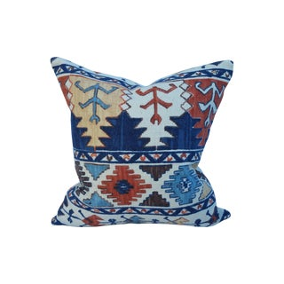 Pierre Frey Nubby Tribal Print Pillow For Sale