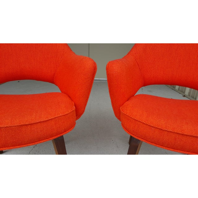 Vintage Saarinen Knoll Exectutive Chairs- a Pair For Sale - Image 10 of 13