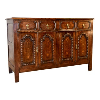 Edwardian Paneled Buffet, Circa 1900 For Sale