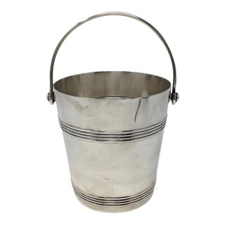 Vintage French Christofle Ice Bucket For Sale