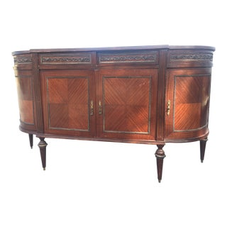 Federal Style Mahogany Sideboard For Sale