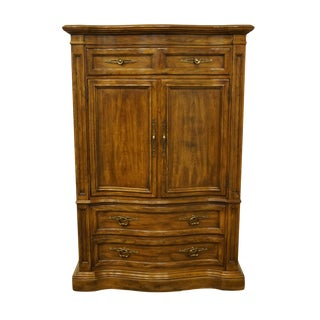 Drexel Heritage Grand Villa Collection Italian Provincial Armoire For Sale