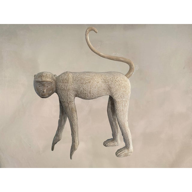 Original Collections '85 Inc. Monkey sculpture in the style of Lalanne. Good Condition--perfect for an entry way. This is...