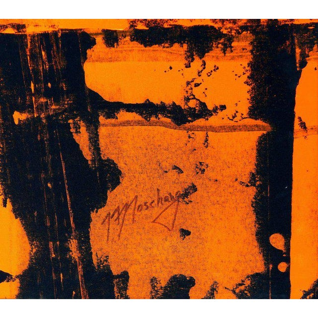 Overscale Abstract Painting by Brazilian Artist Norberto Noschang For Sale - Image 4 of 8