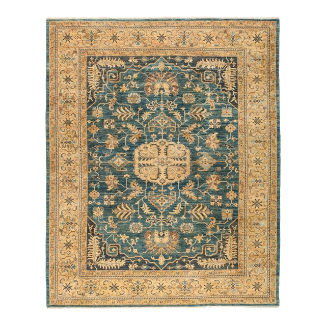 "Ziegler Hand Knotted Area Rug - 8' 3"" X 10' 3"" - Image 1 of 4"
