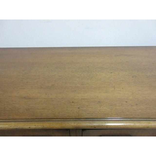 Wood Vintage Italian Regency Mastercraft Sideboard For Sale - Image 7 of 11