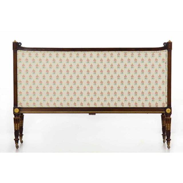 French Louis XVI Style Antique Canapé Sofa Settee Circa Late 19th Century For Sale - Image 4 of 13