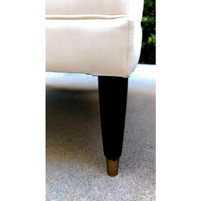Modern Contemporary Slipper Lounge Chairs - Pair - Image 9 of 10