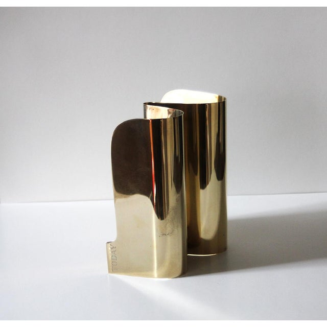 Vintage Brass Sarreid Letter Holder For Sale - Image 5 of 5