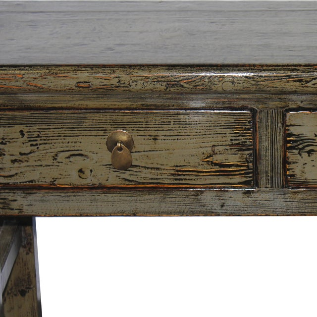 Gray Console Table - Image 3 of 6