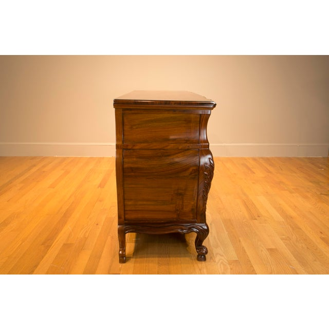 2010s Ophis Solid Rosewood Commode For Sale - Image 5 of 8