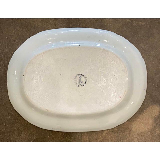 "Antique ""Flying Bird"" Davenport Platter For Sale In Little Rock - Image 6 of 8"