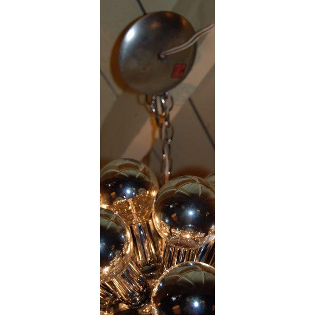 1960s Italian Sputnik Chandelier With 32 Lights For Sale In Los Angeles - Image 6 of 8