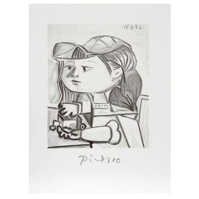 Pablo Picasso - Buste De Petite Fille Estate Litho For Sale
