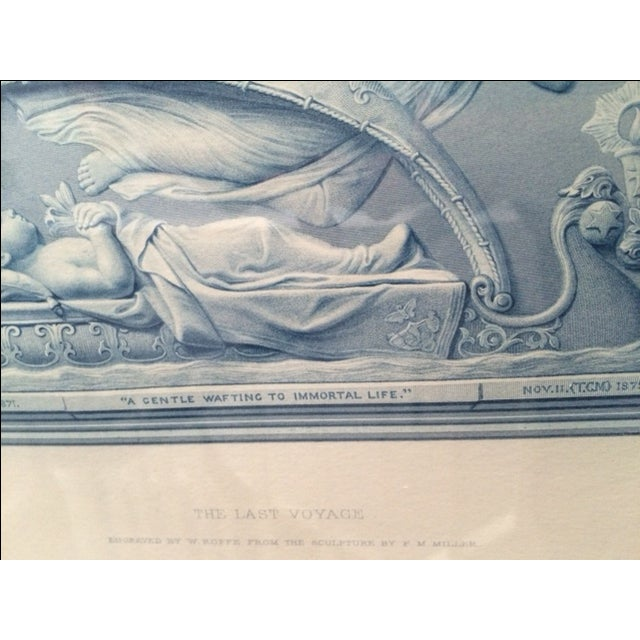 """Antique Collector's """"The Last Voyage"""" Engraving - Image 6 of 9"""