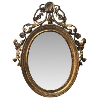 18th C. French Mirror From the Duke Estate For Sale