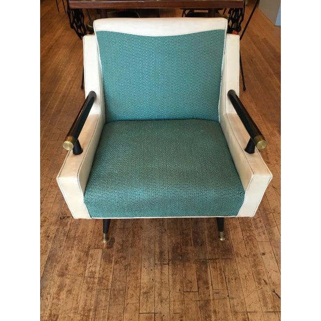 Mid Century Atomic Era Club Chair - Image 5 of 6