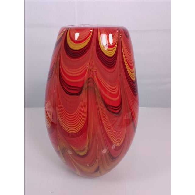 2008 Murano Art Glass Vase - Image 4 of 11