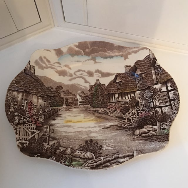 1960s Vintage Johnson Bros Olde English Countryside Serving Set - 17 Pieces For Sale In Sacramento - Image 6 of 13