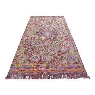 Large Vintage Kilim Rug For Sale