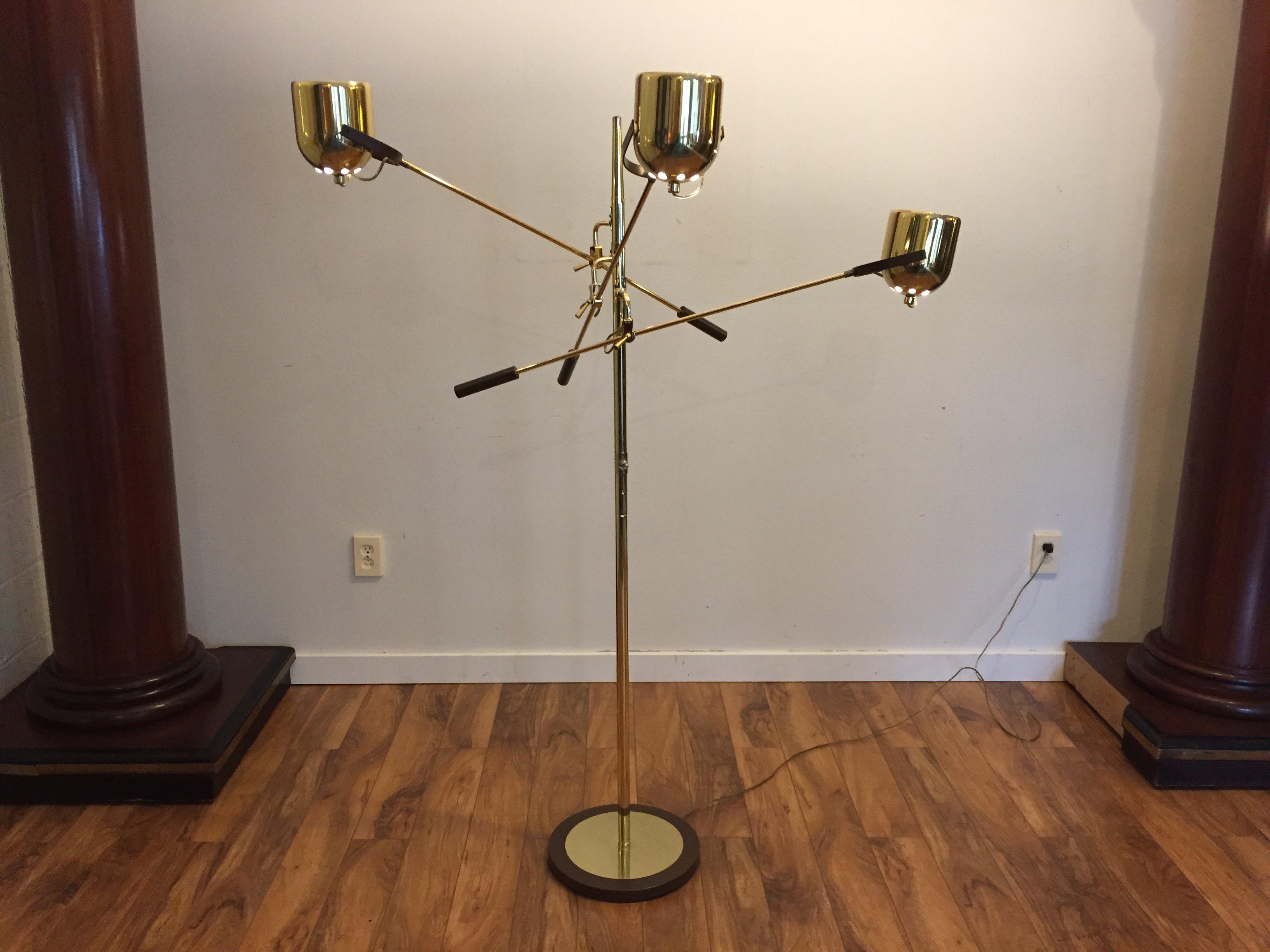 Clover Lamp Co. Mid Century Floor Lamp   Image 6 Of 11