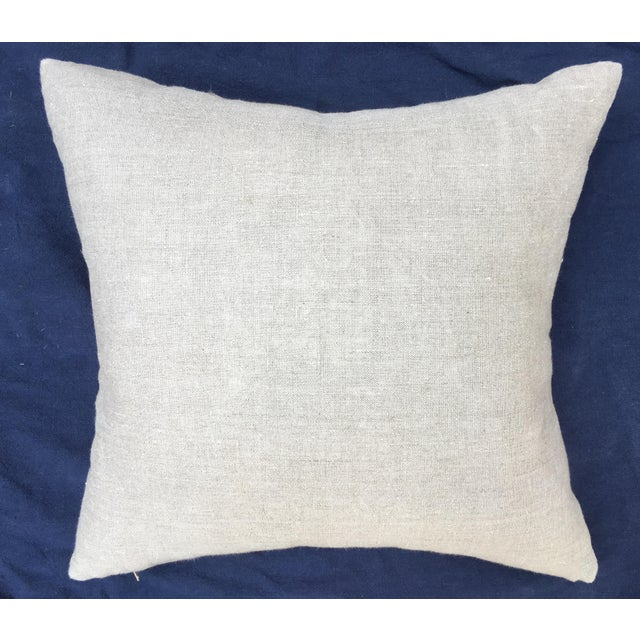 Cotton Egyptian Tapestry Pillow For Sale - Image 7 of 7