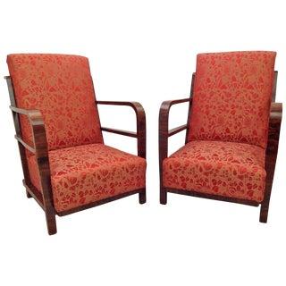 Art Deco armchair, 1930s - A Pair For Sale