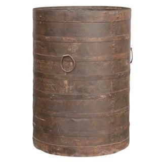 Handcrafted Iron Barrel