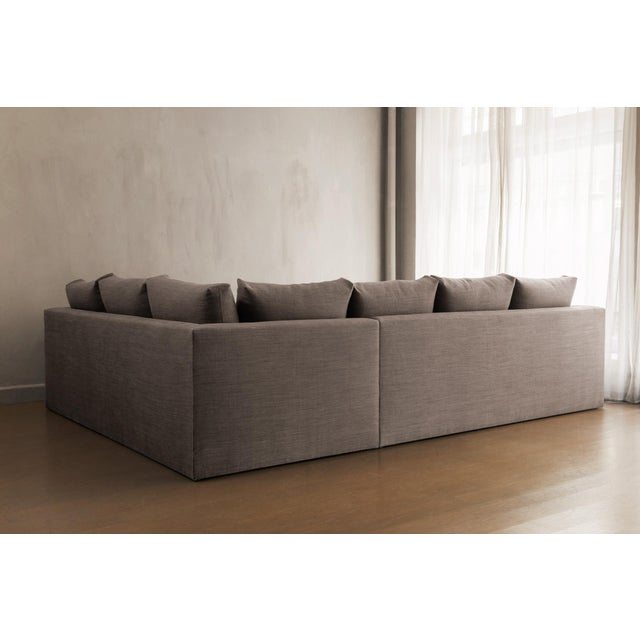 Contemporary Chelsea Square Sectional Sofa For Sale - Image 3 of 4