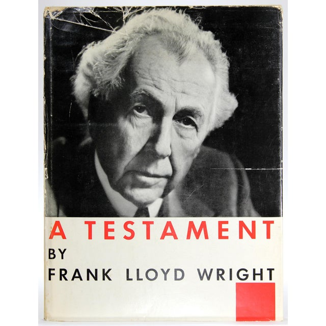 Frank Lloyd Wright: A Testament, First Edition For Sale - Image 13 of 13