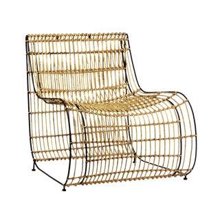 Modern Rattan Side Chair
