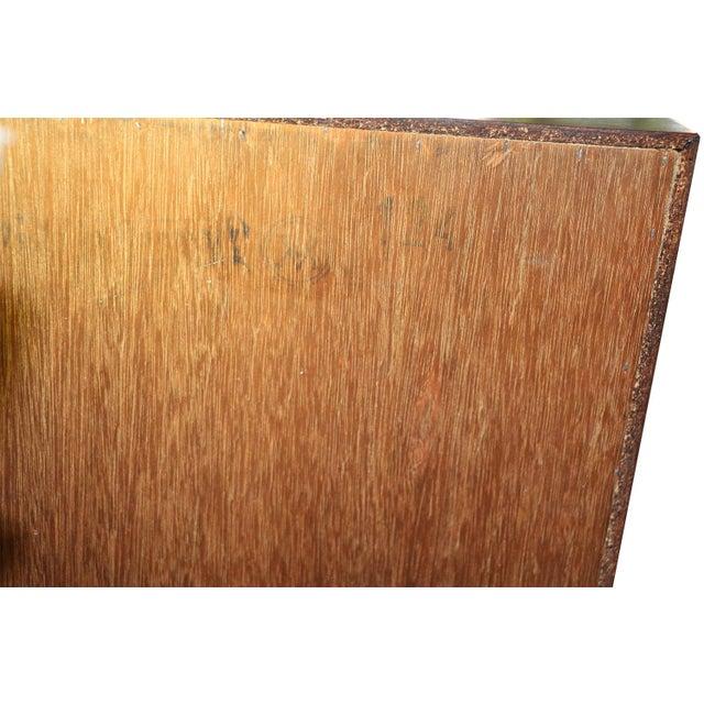 Danish Modern Teak Storage Gents Chest Dresser For Sale - Image 9 of 10