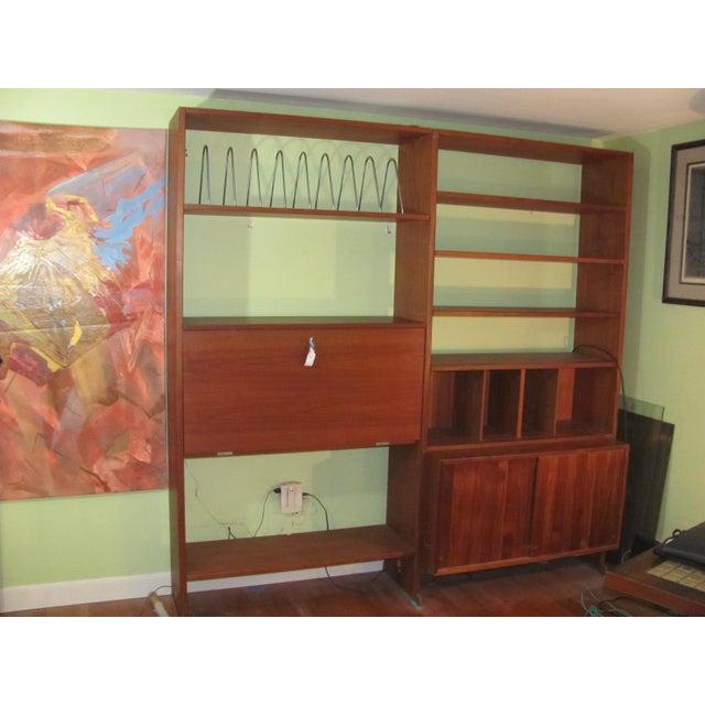 Hans Wegner Double Bay Teak Room Divider by Ry Mobler For Sale - Image 13 of 13